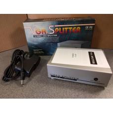 250 mHz 2 Port VGA Monitor Video Splitter