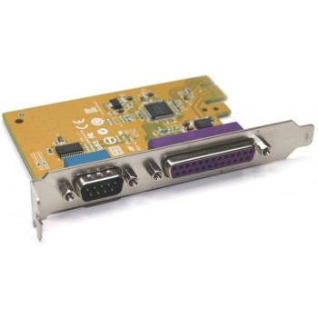 Dell Original Expansion Card 05R3FC Serial RS-232 (DB9) Parallel LPT (DB25) PCI Express