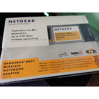 Netgear WN511B-100GES PCMCIA / Cardbus 802.11N / 11b/g Wireless Card