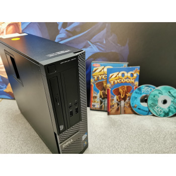 XP Retro Gaming PC - Dell SFF Tower - HDMI - Zoo Tycoon Edition