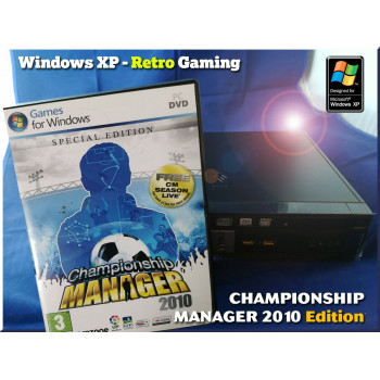 XP Retro Gaming PC - USFF - Championship Manager 2010 Special Edition