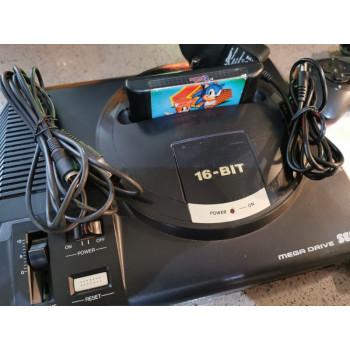 Sega Megadrive with Controller & Sonic the Hedgehog 1 & 2 Carts