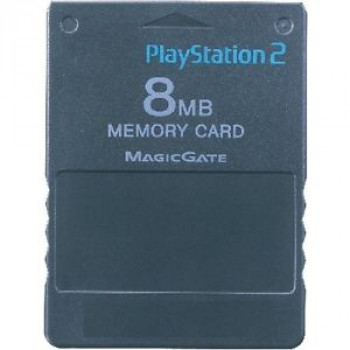 8MB PS2  Memory Card - FreeMcBoot Installed