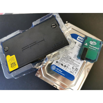 PS2 McBoot Card, 500gB HDD & Adapter Bundle