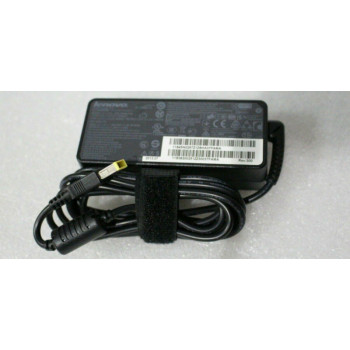 New Boxed Genuine Lenovo Thinkpad 65w Flat Tip UK AC Adapter - 0B47483