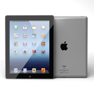 """Apple iPad 3rd Gen (A1416) 9.7"""" 64GB - Black"""