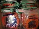 50 x New Mixed Length Cat 5e Ethernet / Lan / RJ45 Cables 2m / 3m / 5m