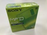 "10 x New Sony 3.5"" 1.44MB MFD 2HD Floppy Disks - 10MFD2HDGF"