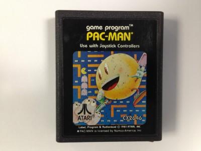 Pac Man - Atari 2600 Cartridge