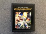 Missile Command - Atari 2600 Cartridge & Manual