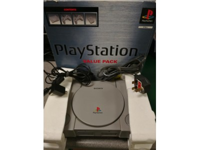 Sony Playstation PS1 (Boxed Complete)