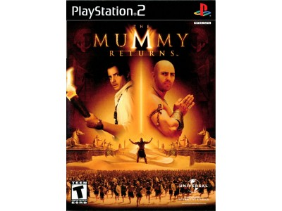 THE MUMMY RETURNS PS2