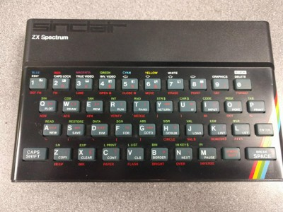 Sinclair ZX Spectrum 48k Rubber Key (Boxed)