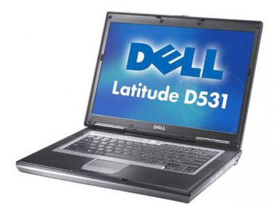 Dell Latitude D531 Windows XP Wifi Laptop with RS232 Serial Port - A2120XL