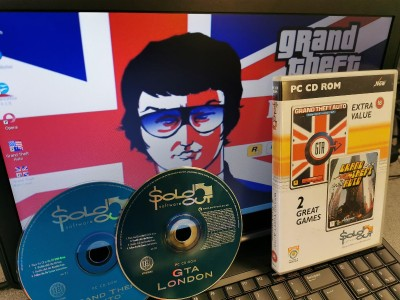 Dell Latitude E Series Windows XP (Retro XP Gaming) Laptop - GTA & GTA London 1969 Edition