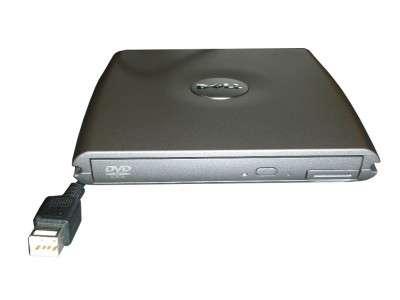 External Dell Media Bay with DVD Drive