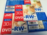 21 x JVC 1.4gB DVD-RW 80mm Discs