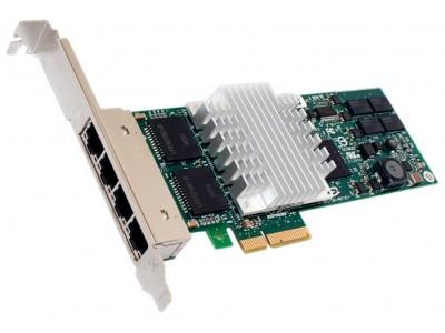 HP NC364T PCI-Express Quad Port Gigabit Network Card