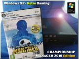 Windows XP Retro Gaming PC - Championship Manager 2010 Edition
