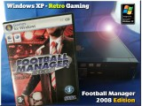 Windows XP Retro Gaming PC - Football Manager 2008 Edition