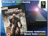 Windows XP Retro Gaming PC - Enemy Territory Quake Wars Edition
